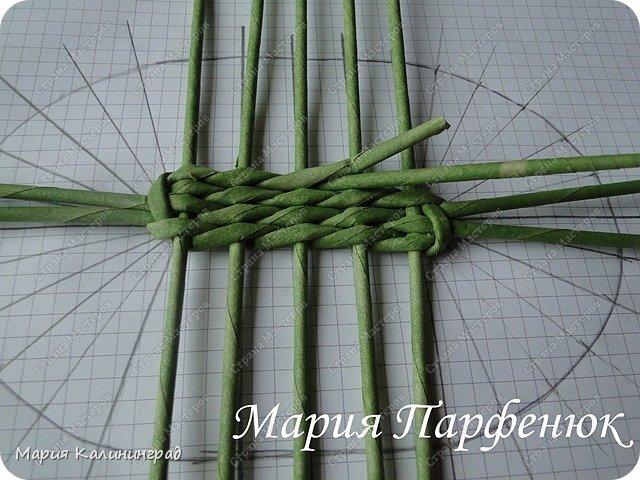 Мастер-класс Поделка изделие Плетение Овальное дно мастер класс Бумага газетная Трубочки бумажные фото 18
