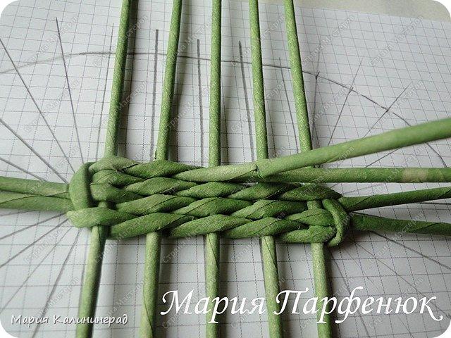 Мастер-класс Поделка изделие Плетение Овальное дно мастер класс Бумага газетная Трубочки бумажные фото 20