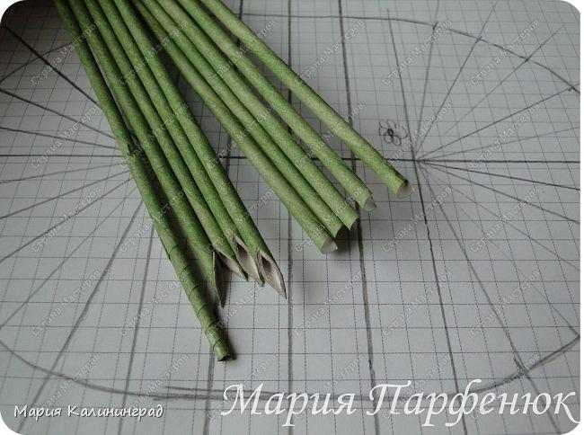 Мастер-класс Поделка изделие Плетение Овальное дно мастер класс Бумага газетная Трубочки бумажные фото 3