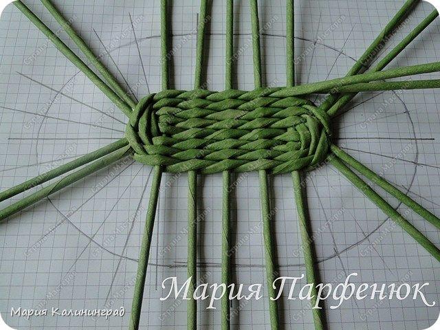 Мастер-класс Поделка изделие Плетение Овальное дно мастер класс Бумага газетная Трубочки бумажные фото 27