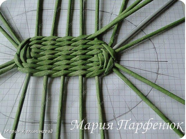 Мастер-класс Поделка изделие Плетение Овальное дно мастер класс Бумага газетная Трубочки бумажные фото 28