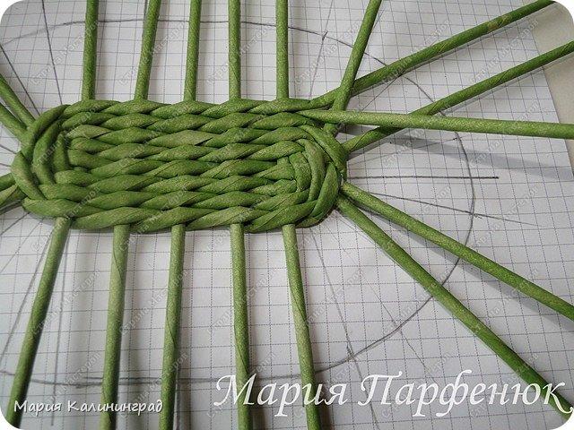 Мастер-класс Поделка изделие Плетение Овальное дно мастер класс Бумага газетная Трубочки бумажные фото 29