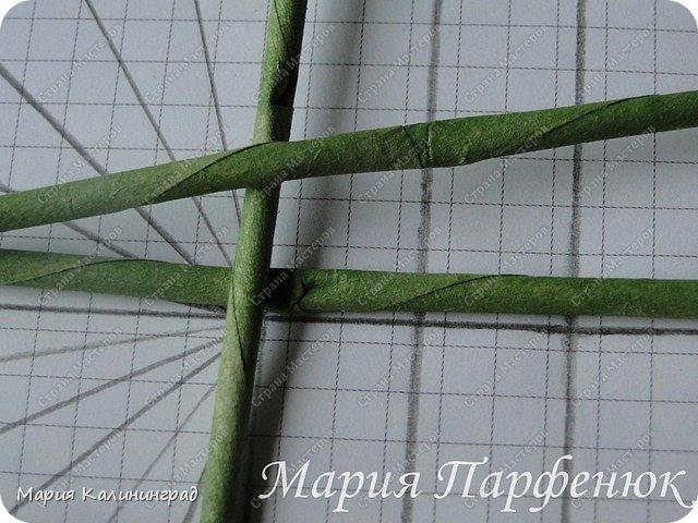 Мастер-класс Поделка изделие Плетение Овальное дно мастер класс Бумага газетная Трубочки бумажные фото 5