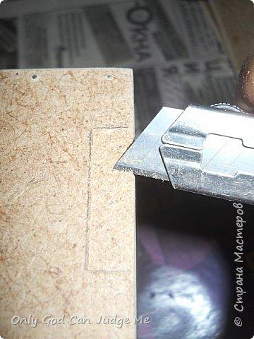 Мастер-класс Поделка изделие Моделирование конструирование Ларец из прошлого Гипс Дерево Клей Краска фото 12
