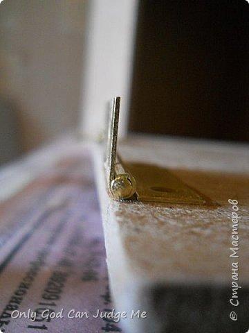 Мастер-класс Поделка изделие Моделирование конструирование Ларец из прошлого Гипс Дерево Клей Краска фото 16