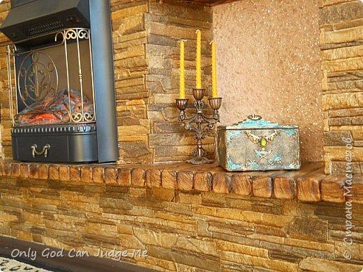 Мастер-класс Поделка изделие Моделирование конструирование Ларец из прошлого Гипс Дерево Клей Краска фото 43