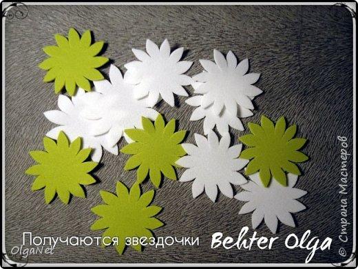 Мастер-класс Моделирование конструирование МК Броши Белый клевер из фоамирана Фоамиран фом фото 8