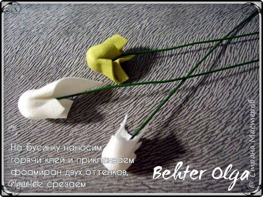 Мастер-класс Моделирование конструирование МК Броши Белый клевер из фоамирана Фоамиран фом фото 23