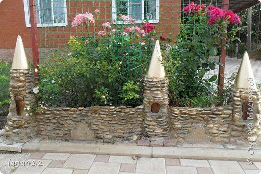 вот такой замок из камней построила я. фото 1