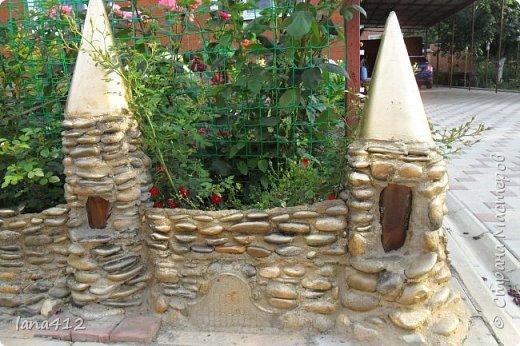 вот такой замок из камней построила я. фото 2