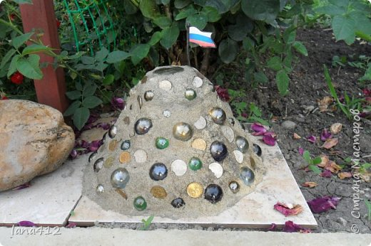вот такой замок из камней построила я. фото 5