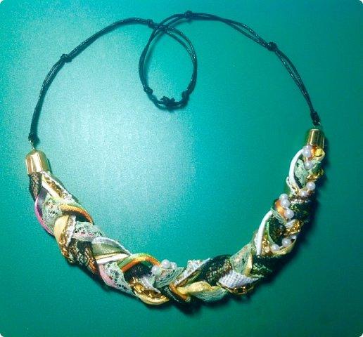 Мастер-класс Украшение Плетение Стильное украшение из обрезков фото 11