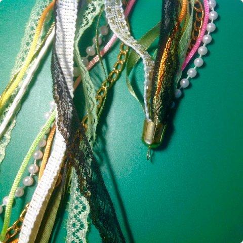Мастер-класс Украшение Плетение Стильное украшение из обрезков фото 5