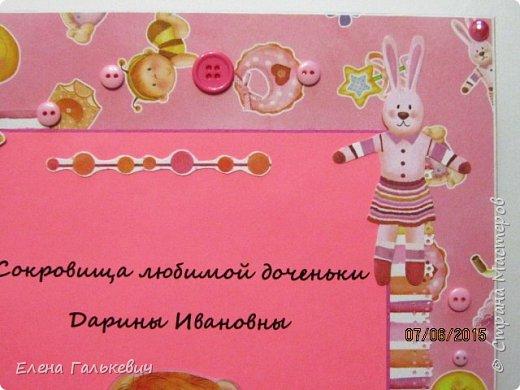 Большие по размеру мамины сокровища для девочки+сокровища для мальчика с использованием новых штампиков фото 4