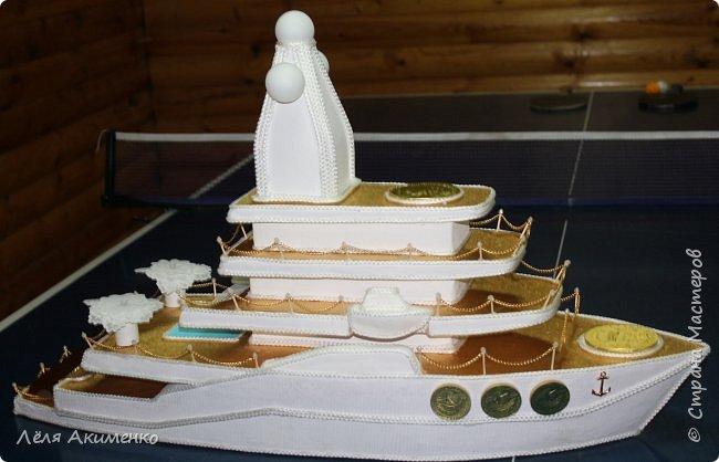Поделка яхта своими руками