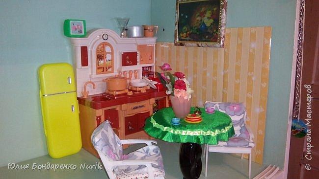 Здравствуйте)))) Сегодня хочу поделиться с вами идеей, как сделать холодильник для кукол. фото 14