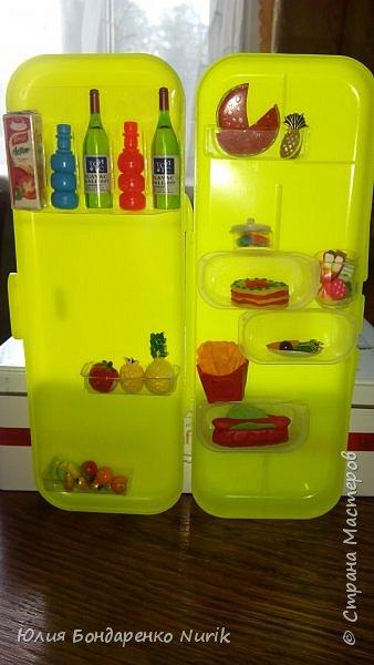 Здравствуйте)))) Сегодня хочу поделиться с вами идеей, как сделать холодильник для кукол. фото 12