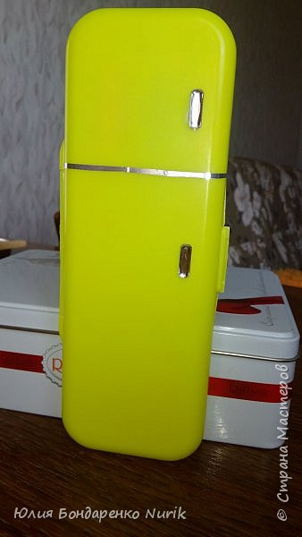 Здравствуйте)))) Сегодня хочу поделиться с вами идеей, как сделать холодильник для кукол. фото 11
