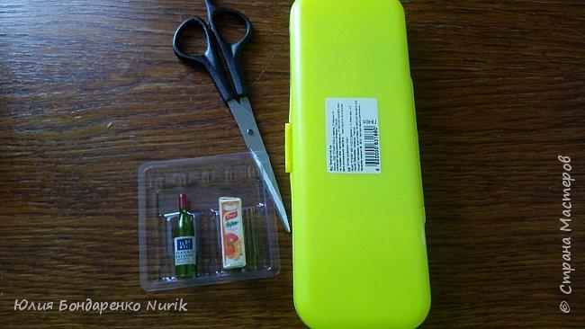 Здравствуйте)))) Сегодня хочу поделиться с вами идеей, как сделать холодильник для кукол. фото 3