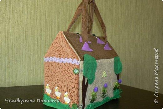 Попросила младшая дочка сделать домик для котёнка Мурзика...Вот сегодня, в дождливый день, мы этим и занялись. фото 3