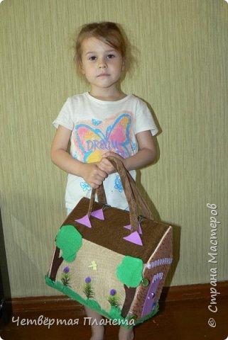 Попросила младшая дочка сделать домик для котёнка Мурзика...Вот сегодня, в дождливый день, мы этим и занялись. фото 1