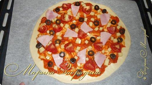 Кулинария Мастер-класс Рецепт кулинарный Тесто для пиццы Продукты пищевые Тесто для выпечки фото 19