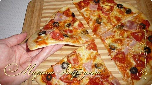 Кулинария Мастер-класс Рецепт кулинарный Тесто для пиццы Продукты пищевые Тесто для выпечки фото 25