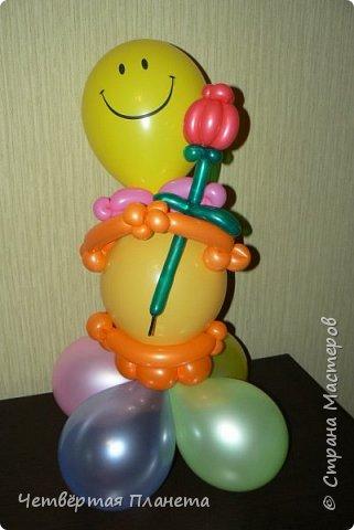 А кто такие фиксики? Моя дочь на этот вопрос и споёт и спляшет :) ...Сколько же было радости, когда мой муж сделал такой подарок - Нолик из шаров, ростом 120 см! фото 6
