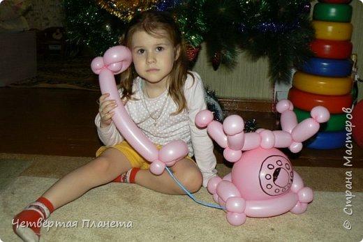 А кто такие фиксики? Моя дочь на этот вопрос и споёт и спляшет :) ...Сколько же было радости, когда мой муж сделал такой подарок - Нолик из шаров, ростом 120 см! фото 7