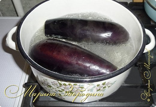 Кулинария Мастер-класс Рецепт кулинарный Лодочки из баклажанов с ветчиной и овощами Продукты пищевые фото 3
