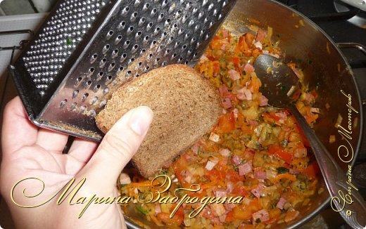 Кулинария Мастер-класс Рецепт кулинарный Лодочки из баклажанов с ветчиной и овощами Продукты пищевые фото 20