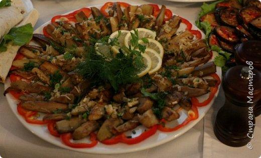 Закуска из баклажанов и болгарского перца