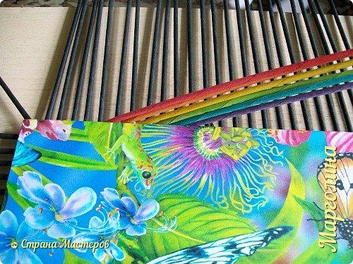 Мастер-класс Поделка изделие Декупаж Плетение Короб Лето От А до Я-2 часть Бумага Трубочки бумажные фото 4