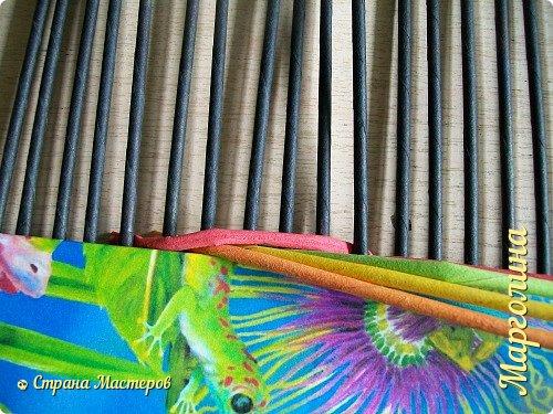 Мастер-класс Поделка изделие Декупаж Плетение Короб Лето От А до Я-2 часть Бумага Трубочки бумажные фото 5
