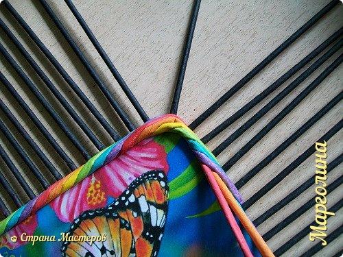 Мастер-класс Поделка изделие Декупаж Плетение Короб Лето От А до Я-2 часть Бумага Трубочки бумажные фото 7
