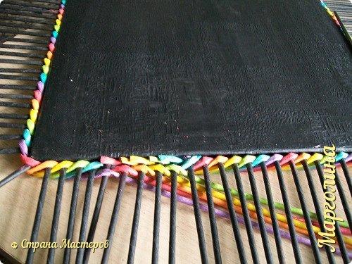 Мастер-класс Поделка изделие Декупаж Плетение Короб Лето От А до Я-2 часть Бумага Трубочки бумажные фото 13