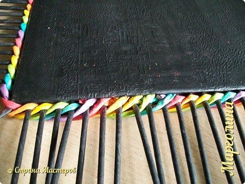 Мастер-класс Поделка изделие Декупаж Плетение Короб Лето От А до Я-2 часть Бумага Трубочки бумажные фото 15