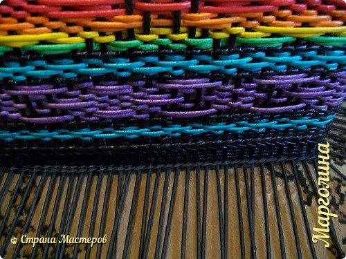 Мастер-класс Поделка изделие Декупаж Плетение Короб Лето От А до Я-2 часть Бумага Трубочки бумажные фото 17