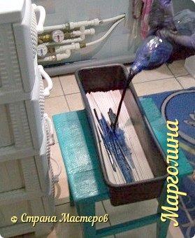 Мастер-класс Материалы и инструменты Плетение Как и чем я крашу трубочки Бумага Бумага газетная Трубочки бумажные фото 8