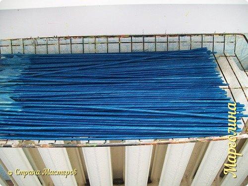 Мастер-класс Материалы и инструменты Плетение Как и чем я крашу трубочки Бумага Бумага газетная Трубочки бумажные фото 10