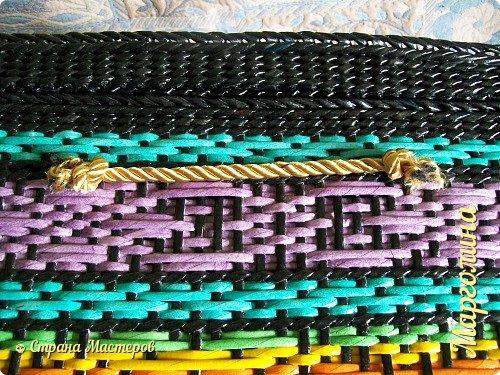 Мастер-класс Поделка изделие Декупаж Плетение Короб Лето От А до Я-2 часть Бумага Трубочки бумажные фото 24