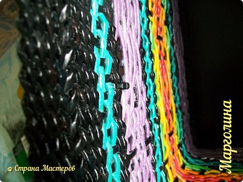 Мастер-класс Поделка изделие Декупаж Плетение Короб Лето От А до Я-2 часть Бумага Трубочки бумажные фото 28