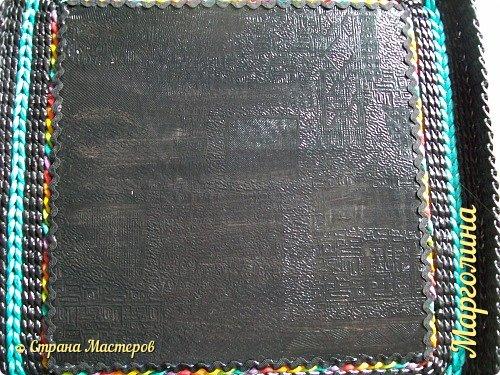 Мастер-класс Поделка изделие Декупаж Плетение Короб Лето От А до Я-2 часть Бумага Трубочки бумажные фото 31