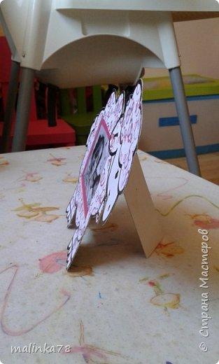 Вот такую простенькую рамку сделали с детками, которым  3 годика фото 6