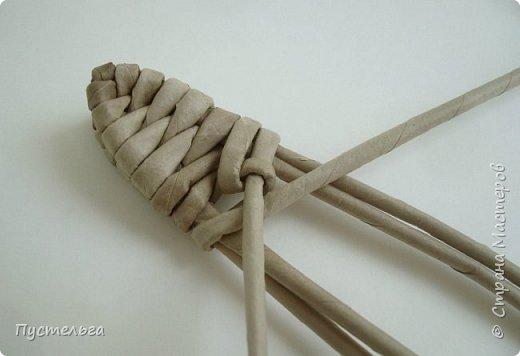 Мастер-класс Поделка изделие Плетение Ящерка Трубочки бумажные фото 11