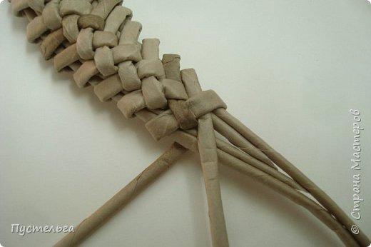 Мастер-класс Поделка изделие Плетение Ящерка Трубочки бумажные фото 17