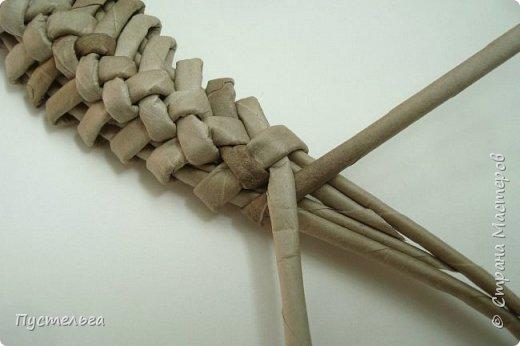 Мастер-класс Поделка изделие Плетение Ящерка Трубочки бумажные фото 18