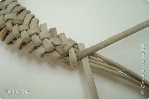 Мастер-класс Поделка изделие Плетение Ящерка Трубочки бумажные фото 19