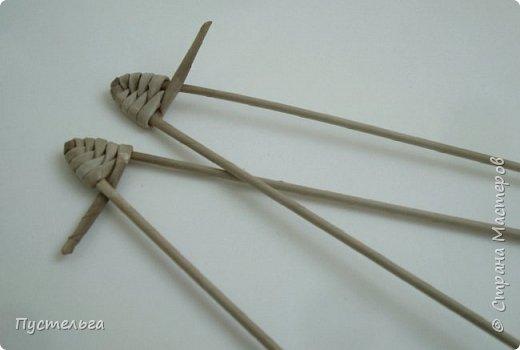 Мастер-класс Поделка изделие Плетение Ящерка Трубочки бумажные фото 3