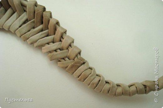 Мастер-класс Поделка изделие Плетение Ящерка Трубочки бумажные фото 21